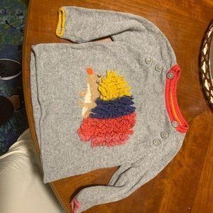 Mini Boden sweater size 1.5-2t